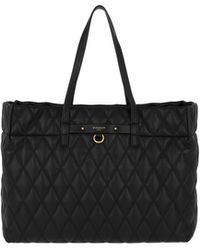 e930441b639f Givenchy - Duo Llg Shopping Bag Leather Black - Lyst