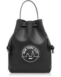 meli melo - Black Nyc Briony Mini Backpack - Lyst fdc0bb4710b96