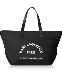 Karl Lagerfeld - Rue St Guillaume Large Tote - Lyst