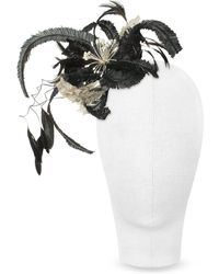 Nana' | Cilla - Black And White Flower Comb | Lyst