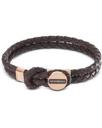 Emporio Armani - Egs2177221 Signature Men's Bracelet - Lyst