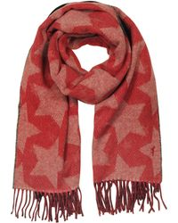 Maison Kitsuné - Stars Double Sided Wool Blend Scarf - Lyst