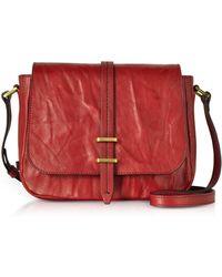 The Bridge - Rimbaud Leather Medium Shoulder Bag - Lyst
