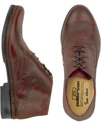 PakersonDesigner Shoes, Burgundy Handmade Italian Leather Wingtip Ankle Boots