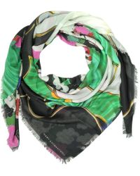 Mary Katrantzou - Forest Printed Scarf - Lyst
