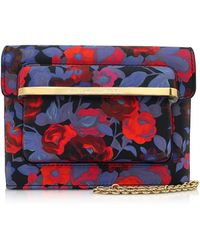 Mary Katrantzou - Gardenia Floral Print Leather Mvk Mini Shoulder Bag - Lyst