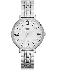 Fossil - Es3433 Jacqueline Watch Silver - Lyst