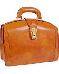 Pratesi - Ladies Polished Italian Leather Briefcase - Lyst