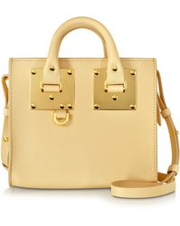 Sophie Hulme - Nude Leather Albion Box Tote Bag - Lyst