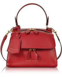 Victoria Beckham - Women's Red Leather Handbag - Lyst
