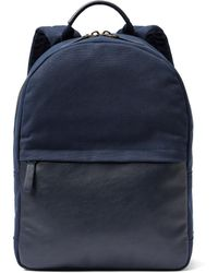 Frank And Oak - The Day Off Backpack In Navy - Lyst