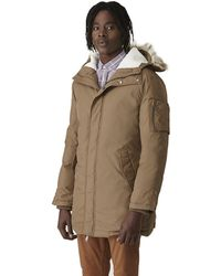 Frank And Oak - Mckinley Down Parka In Taupe - Lyst