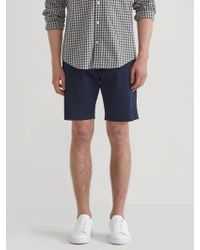 """Frank And Oak - The Newport Chino 9"""" Short In Dress Blue - Lyst"""