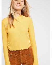 Free People - So Cropped Thermal By Intimately - Lyst
