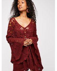 Free People - Mandala Crochet Tunic - Lyst