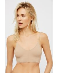cacd9c5dc6e2f Free People - Low Back Bralette By Intimately - Lyst