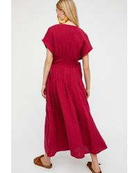 570526eece Free People - Jacinta Midi Dress By Endless Summer - Lyst