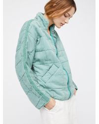 Free People - Dolman Quilted Jacket - Lyst