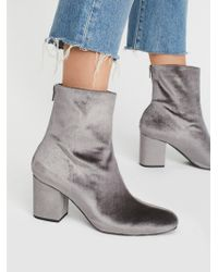 Free People - Velvet Cecile Ankle Boot - Lyst