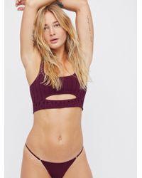 Free People | Super Skinny Bikini | Lyst