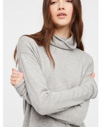 Free People - Cashmere Turtleneck Jumper - Lyst