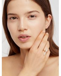 Free People - Mint Wrapped Crystal Ring - Lyst