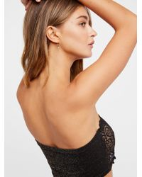 Free People - Seamless And Lace Reversible Bandeau - Lyst