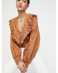 Free People - Saint Germain Jacket - Lyst