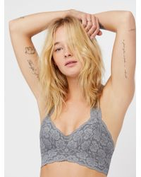 Free People - Galloon Lace Racerback - Lyst
