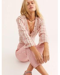 Free People - Bedford Shirt - Lyst
