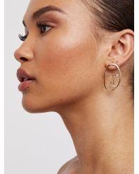 Free People - Jonesy Wood Uso Earring - Lyst