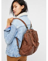 Free People - Accessories Bags Backpacks & Messengers Calista Convertible Backpack - Lyst