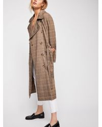 Free People - Cecilia Trench Coat - Lyst