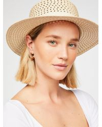Free People - Hidden Hills Boater Hat - Lyst