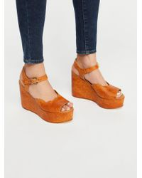Free People - Uptown Wedge - Lyst