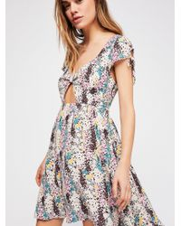 Free People - Miss Right Mini Dress - Lyst