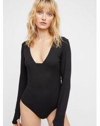 Free People - Clothes Bodysuits Feelin' Fine Bodysuit - Lyst