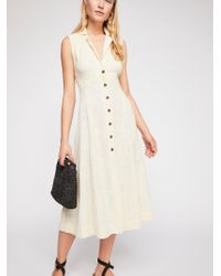 Free People - Isola Midi Dress By Endless Summer - Lyst