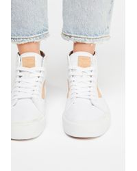 e2180771ce Lyst - Nasty Gal Vans Decon Leather Sneaker in Metallic