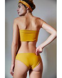 1fd15e1adca0b Lyst - Free People Crux Bikini Bottom Grus Bikini Top in Red