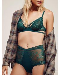 Free People - Dream Of Me High Waisted Undie Dream Of Me Underwire Bra - Lyst
