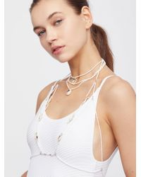 Free People | Beaded Beaches Body Halter | Lyst