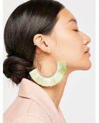 Free People - Flamenco Tassel Hoop Earrings - Lyst