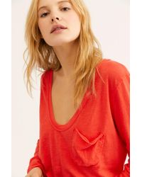 Free People - We The Free Betty Long Sleeve - Lyst