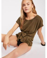 Free People - Fp One Wrap Top - Lyst