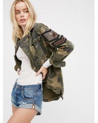 Free People - Bandit Denim Cutoffs - Lyst
