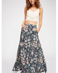 Free People - Spring Rose Wylde Maxi Skirt By Auguste The Label - Lyst