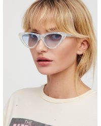 Free People - Vienna Cat Eye Sunglasses - Lyst