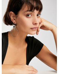 Free People - Infinity Hoop Earrings - Lyst