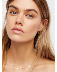 Free People - Madrid Coins Delicate Choker - Lyst